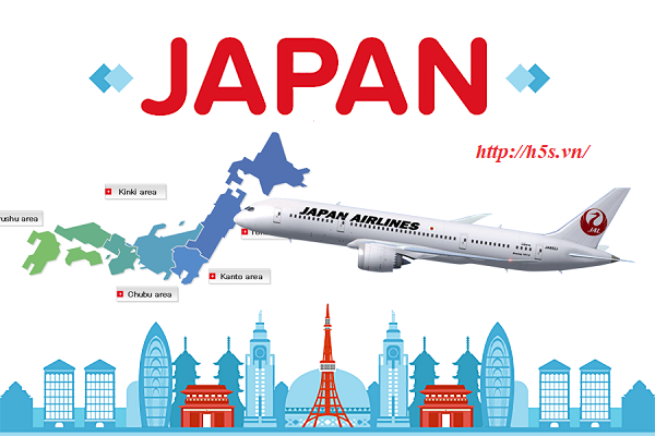 Vận chuyển khẩu trang y tế đi Nhật Bản