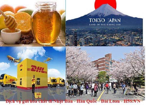 Gửi hàng hóa chất - gửi chất lỏng đi quốc tế Nhật Bản - Hàn Quốc - Đài Loan