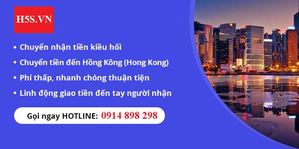 Gửi tiền đi Hồng Kông nhanh chóng giá rẻ