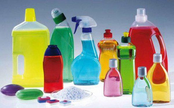 Chuyến phát nhanh quốc tế hóa chất - chất tẩy rửa