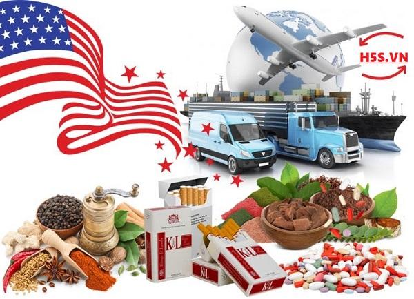 Gửi thực phẩm sang Mỹ