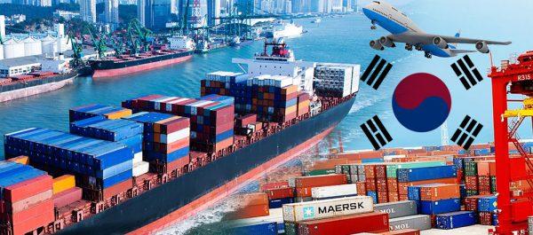 Vận chuyển hàng hóa sang Hàn Quốc