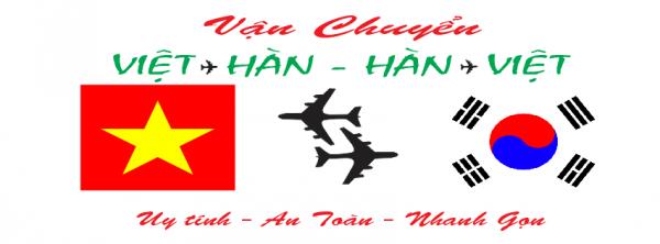 Vận chuyển hàng hóa - Tiền hai chiều Việt - Hàn