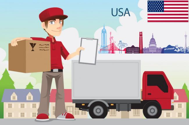 Gửi hàng hóa đi Mỹ