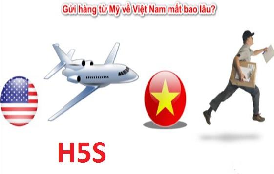Gửi hàng từ Việt Nam đi Mỹ thường hết bao nhiêu lâu?