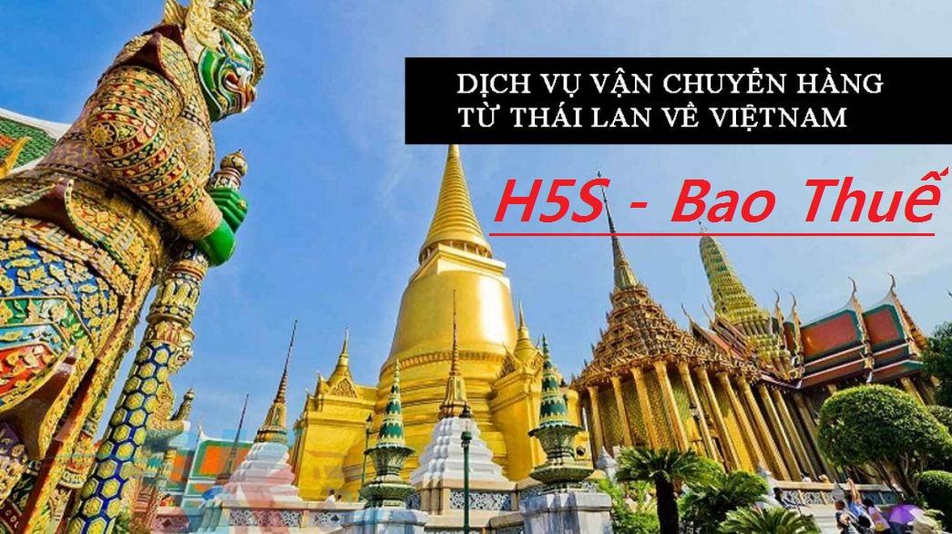 Nhập hàng bao thuế từ Thái Lan về Việt Nam