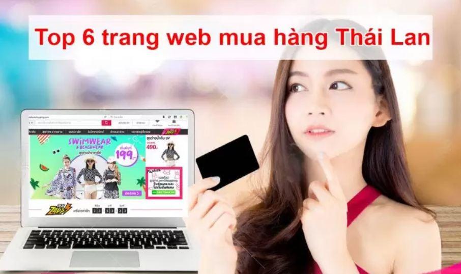 Trang web mua hàng của Thái Lan