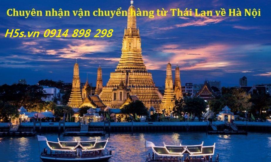 Vận chuyển hàng Thái Lan về Hà Nội