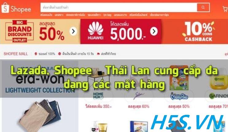 Cách mua hàng trên Shopee Thái Lan